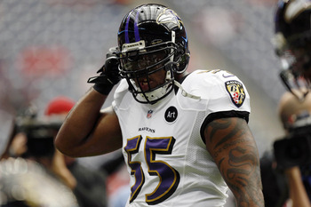Suggs is returning from his injury at a perfect time for the Ravens.