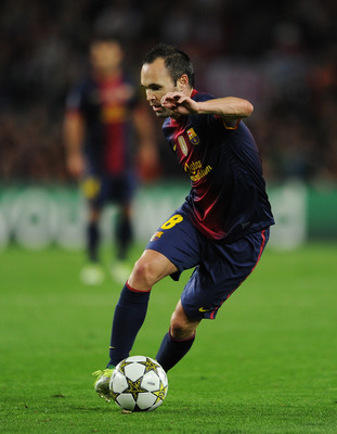 Iniesta and Xavi combined for 360 touches of the ball.