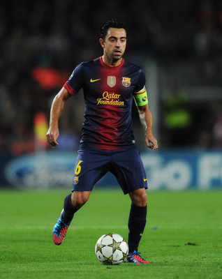Xavi: 177 passes at 97 percent.
