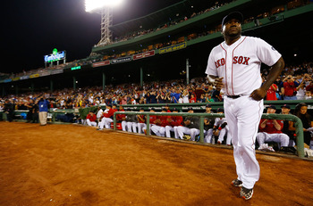 David Ortiz in a September game against Tampa Bay