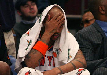 Stephon Marbury's tenure with the Knicks is one that the organization would like to forget even happened.