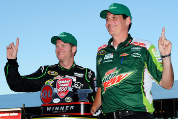 One day soon, Earnhardt and Letarte will indeed be No. 1.