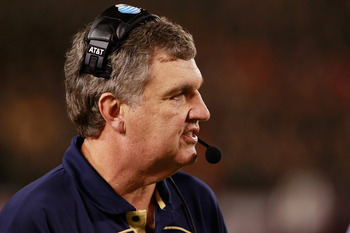 Georgia Tech Head Coach Paul Johnson.
