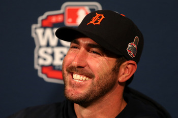 If the World Series goes seven games, Justin Verlander could start three of them.