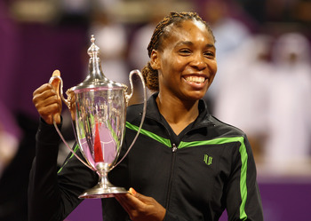 Venus wins her first WTA Tour Championship Title in 2008