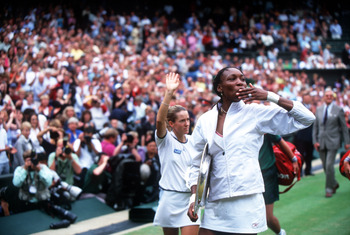 Venus wins her second Wimbledon Title 2001