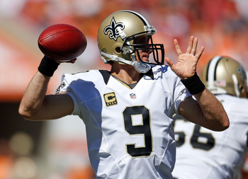 Drew Brees continues to set the fantasy world on fire, and he won't slow down against Denver.