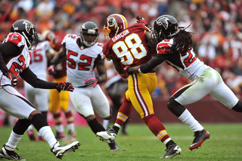 Pierre Garcon has a chance to become one of the best receivers in the NFL if he stays healthy.