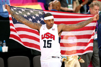 He led his country to Gold now its time to Lead Knicks to the promised land.
