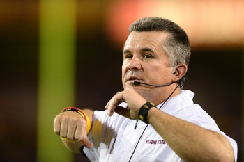 Head coach Todd Graham