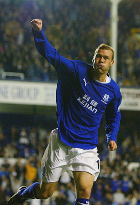 The iconic Duncan Ferguson....not in hiding