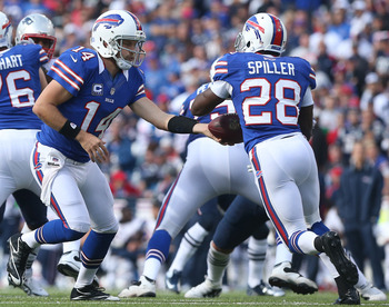 Handing the ball to Spiller has been the Bills' best option offensively.