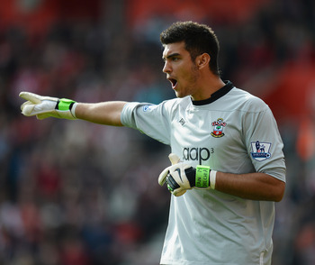 Paulo Gazzaniga has arguably been the best of Southampton's keepers this season.
