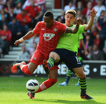 Nathaniel Clyne has been one of the few bright spots in the Southampton defense.