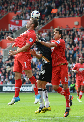 Rickie Lambert (7) will hope for a return to the starting 11 Sunday.