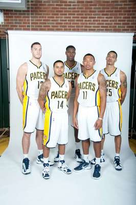 Plumlee, Augustin, Mahinmi, Orlando Johnson and Green