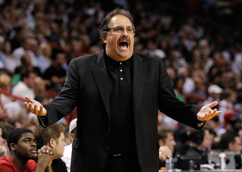Stan Van Gundy while coaching Orlando.