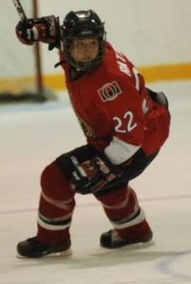Rattray in action with the Ottawa Senators of the PWHL (Courtesy of Ottawa Senators)
