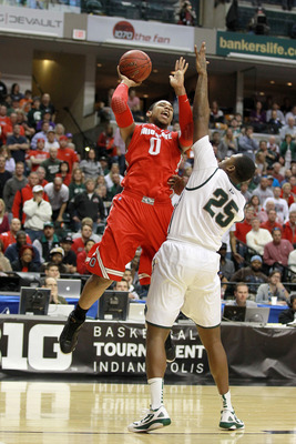 Ohio State vs. Michigan State in 2012 Big Ten tournament championship game