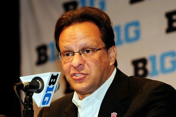 IU coach Tom Crean at Big Ten media day