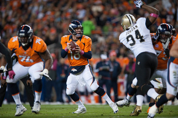 Peyton Manning picked apart the Saints defense on SNF