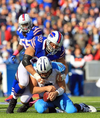 Kelsay collects a sack on Matt Hasselbeck in Week 7