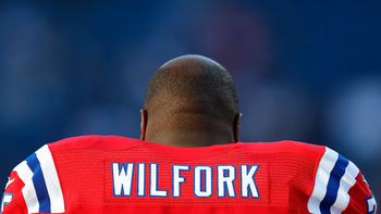 Wilfork is disruptive in the center of the defense.