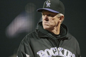 Former Rockies manager Jim Tracy clearly got tired of just being a robot.
