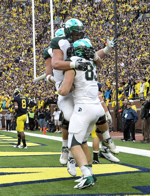 Michigan State went with the perfect blend of new and old last weekend in Ann Arbor