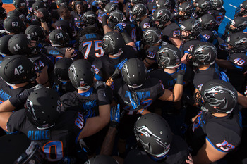 Boise State changed it up big time this past weekend