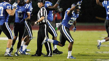 Duke looks all bruised up using a black and blue scheme. Photo Courtesy of: SneakerReport.com