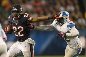 He's been a fantasy disappointment this year, but Matt Forte could break out in a game against the Panthers.