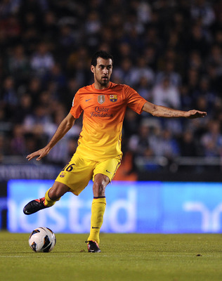 Sergio Busquets could bring his accurate passing to Stamford Bridge next summer