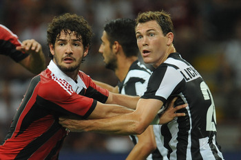 Pato (left) would be a dangerous threat up front for the Blues