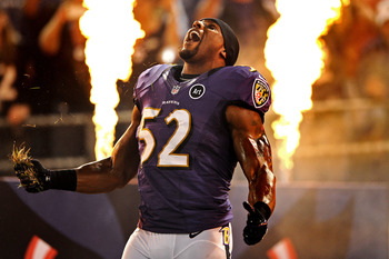 Ray Lewis is done for the year and the Ravens D will continue to struggle.