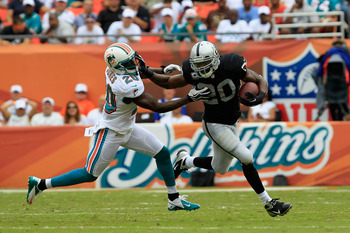 Darren McFadden can be football's best running back when healthy.