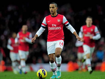 Walcott is an intriguing player for PSG to consider.