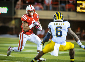 Ameer Abdullah rushed for 101 yards in the Husker win.