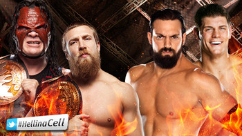 Team Hell No vs. Team Rhodes Scholars