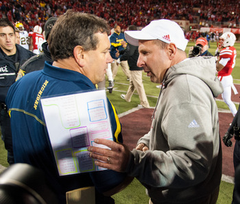 Bo Pelini and his team played four strong quarters of football to knock off Michigan.