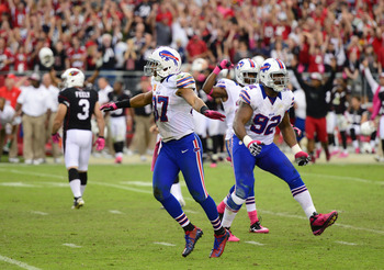 Bills defense hasn't had very many moments to celebrate in 2012