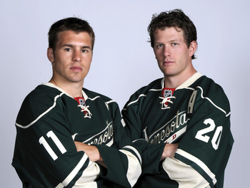 After signing huge contracts this offseason, Zach Parise and Ryan Suter have come out and cried foul at the owners' stance in the lockout