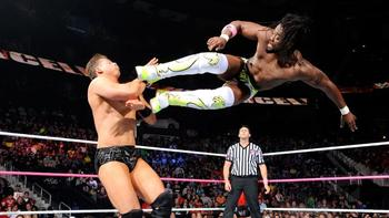 Best vertical leap in the biz (Photo Credit: WWE.com)