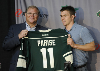 Parise will have to justify Minnesota's spending and fan expectations during his first season with the Wild
