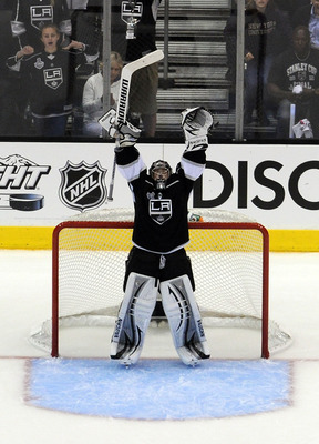 Quick is under pressure to duplicate his performances of last season which will be necessary for the Kings to repeat