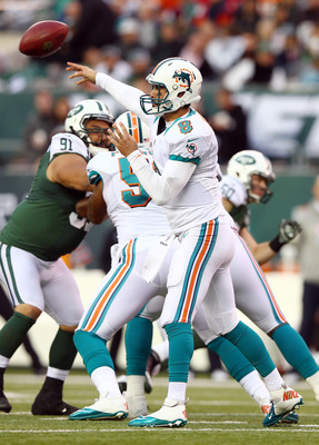 Matt Moore filled in admirably for Ryan Tannehill.