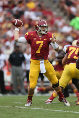 Matt Barkley will win his final matchup with Notre Dame.