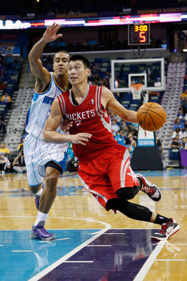 Jeremy Lin has struggled this preseason, but things may get better with James Harden coming aboard.