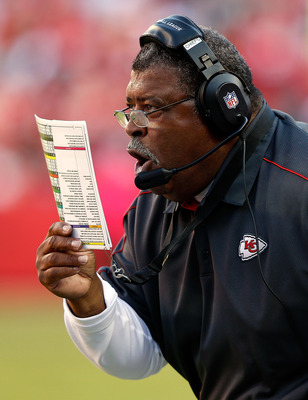 """I am so confused,"" shouts Romeo Crennel (or something to that effect)."