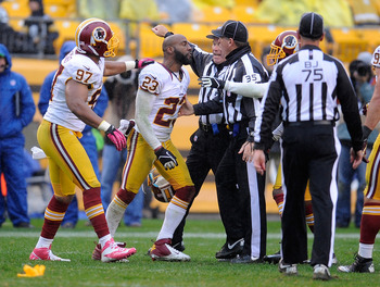 DeAngelo Hall GOES OFF (the field).